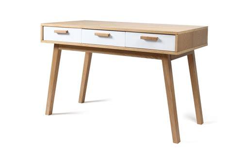 bureau en bois pas cher bureau design en bois scandinave helia