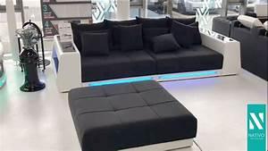 Günstige Big Sofa : big sofa mit led haus ideen ~ Markanthonyermac.com Haus und Dekorationen