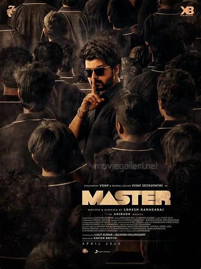 Master Wallpapers Vijay Poster Second