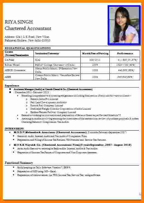 5 cv formt for apply in bank theorynpractice