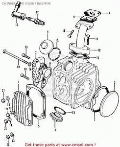 Honda Cl70 Scrambler 1971 K2 Usa Cylinder Head Cover