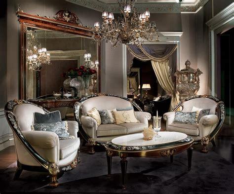 arredo salotto classico  lusso salotto elegante idfdesign