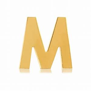 letter m shop tinkalink With gold letter m