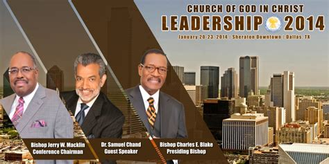 church  god  christ  leadership conference