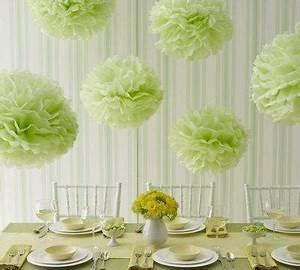 Deco Vert Anis : decoration de mariage vert anis paperblog ~ Teatrodelosmanantiales.com Idées de Décoration
