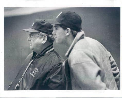 1988 Press Photo UM Wolverines HOF Head Football Coach Bo ...