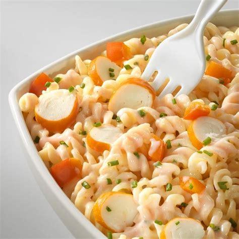 recette salade de p 226 tes au surimi rapide facile