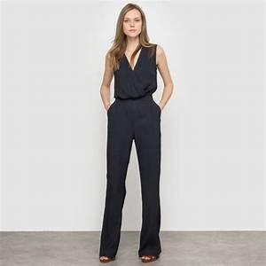 Combinaison Pantalon Femme Bleu Marine : combinaison bleu marine comment l 39 accessoiriser pour un mariage tendances de mode ~ Dallasstarsshop.com Idées de Décoration