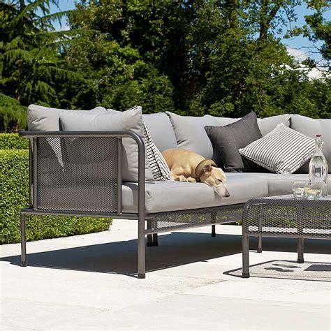 canapes de luxe coin modulable de canapé de jardin haut de gamme en acier