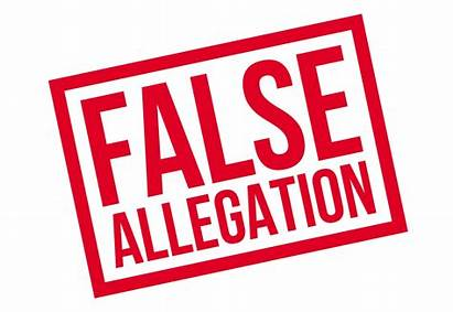 False Allegation Clipart Accusations Vector Stamp Rubber