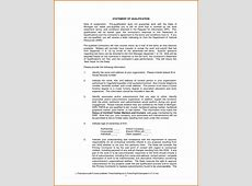 11+ how to write statement of qualifications Lease Template