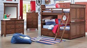 Affordable Boys Bunk Bedroom Sets Rooms To Go Kids ...