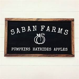 Custom, Family, Farm, Fall, Sign, By, Cedars, U0026, Grace, Co