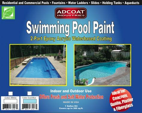 AdCoat Swimming Pool Paint   1 Gallon   AdCoat Industries