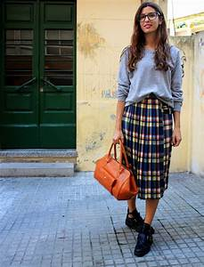 How To Style  Plaid  U0026 Tartan Skirts 2020