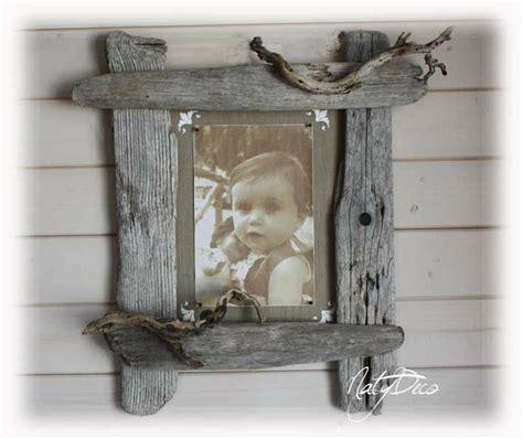 cadre photo en bois flott 233 natydeco