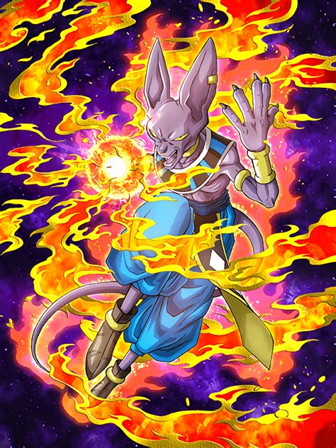impetuous god beerus dragon ball  dokkan battle wikia
