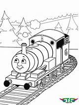 Thomas Train Coloring Tank Engine Tsgos sketch template