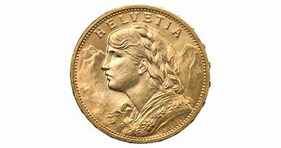 Swiss Coins Gold Franc Francs Coininvest 1949
