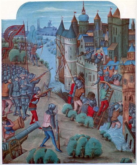 castle siege use and impact of cannons in late sieges