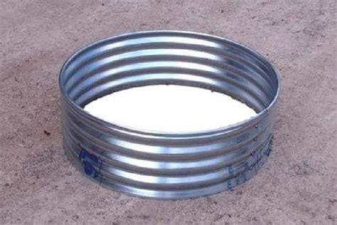 steel pit ring garden treasures pit metal ring liner garden landscape