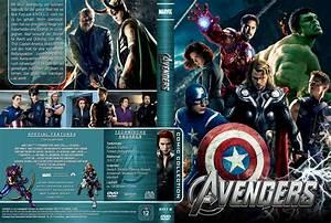 Marvel's The Avengers dvd cover (2012) R2 German