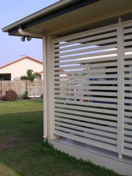 Sichtschutz Garten Jalousie by Custom Made Aluminium Privacy Screen Panels Brisbane