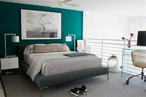 73, Best, Neutral, Bedroom, With, Pop, Of, Color, Turquoise, Teal