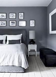 25, Awesome, Bedroom, Design, With, Gray, Wall, Ideas, Freshouz, Com