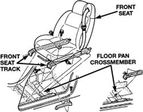 vehicle repair manual 1998 chrysler sebring seat position control repair guides interior seats autozone com