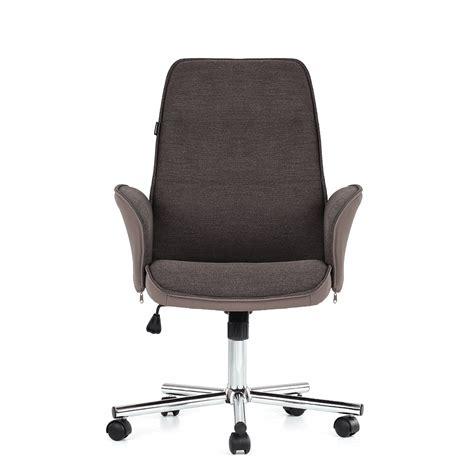 ikayaa adjustable swivel executive office chair heavy duty