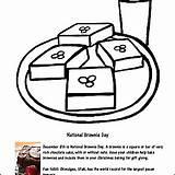 Coloring Brownie December Beverly Hernandez Worksheets sketch template