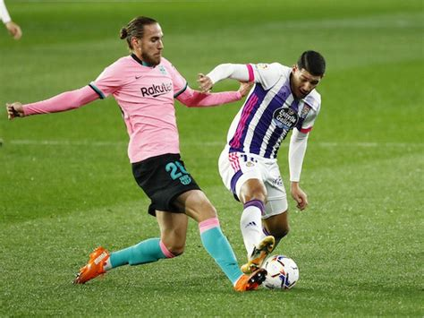 How Real Valladolid could line up against Barcelona - Sports