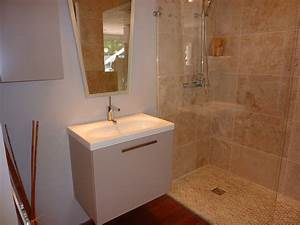 emejing salle de douche 3m2 photos awesome interior home With amenagement salle de bain 4m2