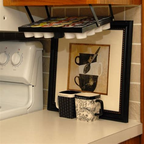 Coffee Keepers Under Cabinet K Cup Holder 608938498274