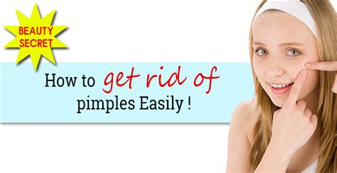 getting rid of a how to get rid of pimples fast naturally overnight