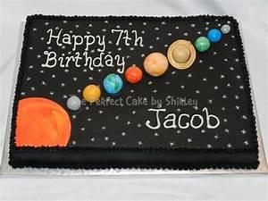 Solar System Sheet Cake - CakeCentral.com