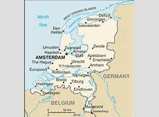 Niederlande Geographie und Landkarte