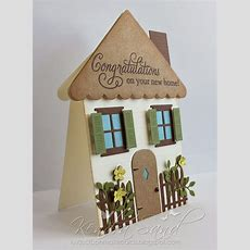 Luv 2 Scrap N' Make Cards Tdd New Home Shaped Card