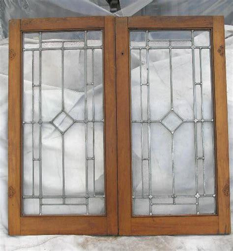 leaded glass cabinet doors vintage leaded glass cabinet doors mf cabinets