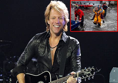 Jon Bon Jovi Donates Hurricane Victims