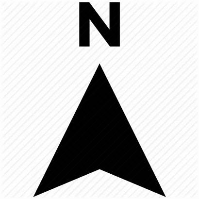 Map Compass Direction Arrow North Icon Navigation