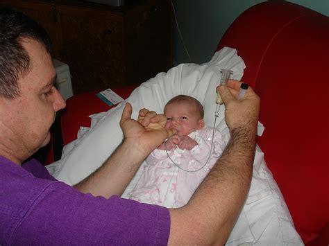 Finger Feeding Baby Ava Technique For Finger Feeding