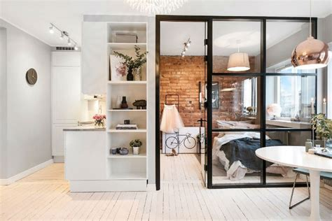 Small Scandinavian Apartment Open Airy Design small scandinavian apartment with open and airy design