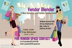 Community Service Log Template Sip And Shop Vendor Blender A Wine Sampling And Fashion