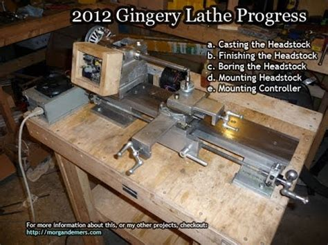 gingery lathe headstock youtube