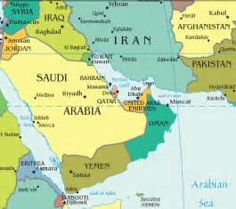 Persian Gulf Map Images & Pictures - Becuo