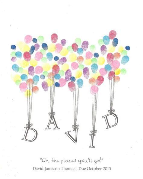 namen von luftballons fingerabdruck gaestebuch dusche