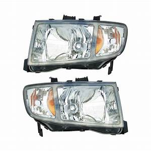 Honda Ridgeline Headlight Assembly Pair