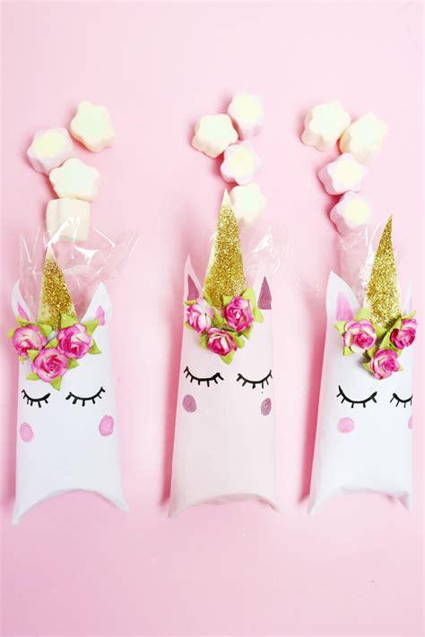 geschenke selber basteln für einhorn schachtel aus klopapierrollen falten diy geschenkverpackung